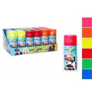 BOMBE COULEUR FLUO 125ML 6 coloris
