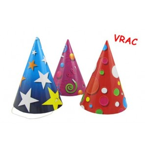CHAPEAUX BRILLANTS PAPIER 3 assortiments