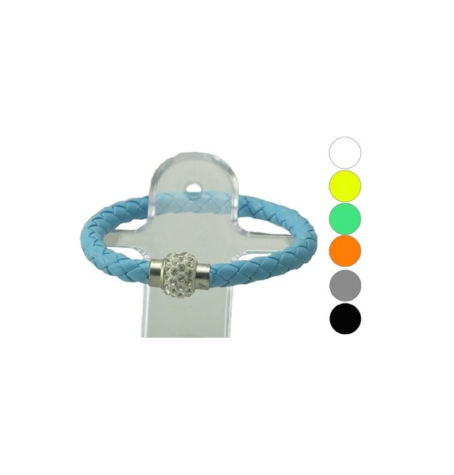 BRACELET COULEUR 6 Assortiments