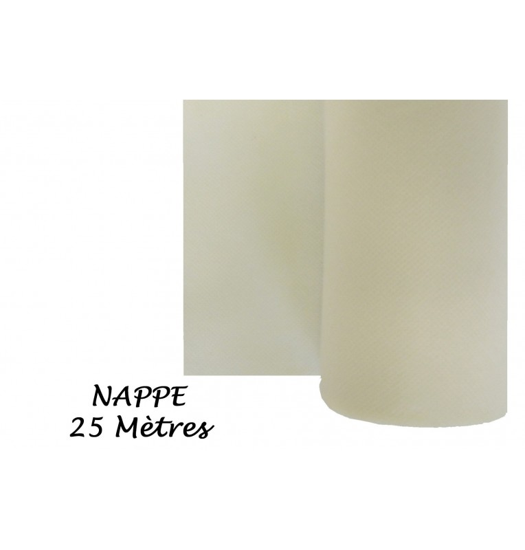 NAPPE INTISSEE IVOIRE 25 M