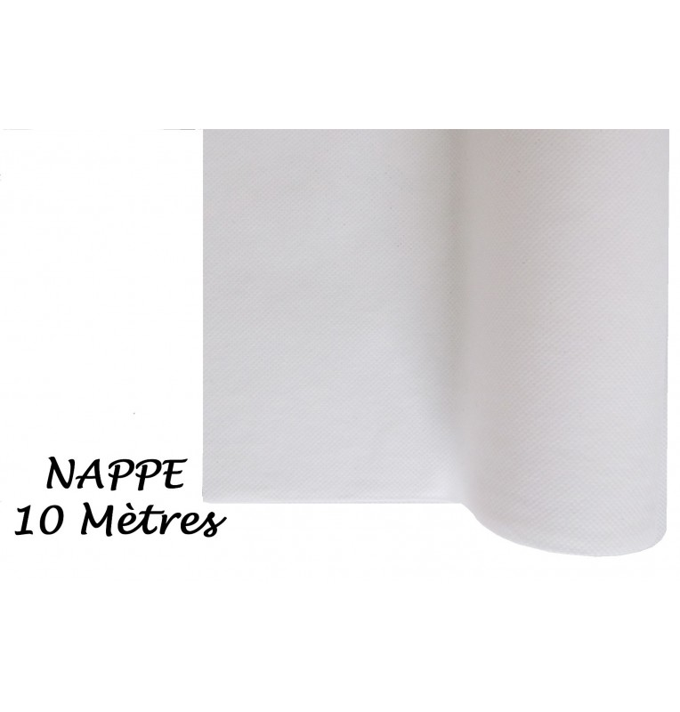 NAPPE INTISSEE BLANCHE 10 M