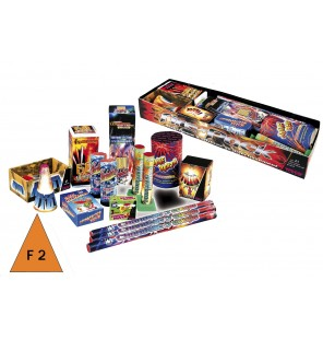 ASSORTIMENTS 20 ARTIFICES FIRE PACK