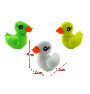 Peluche canard 3 coloris