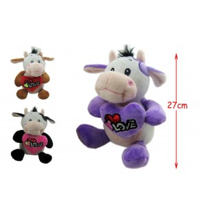 VACHE LOVE H 27 CM 3 Coloris