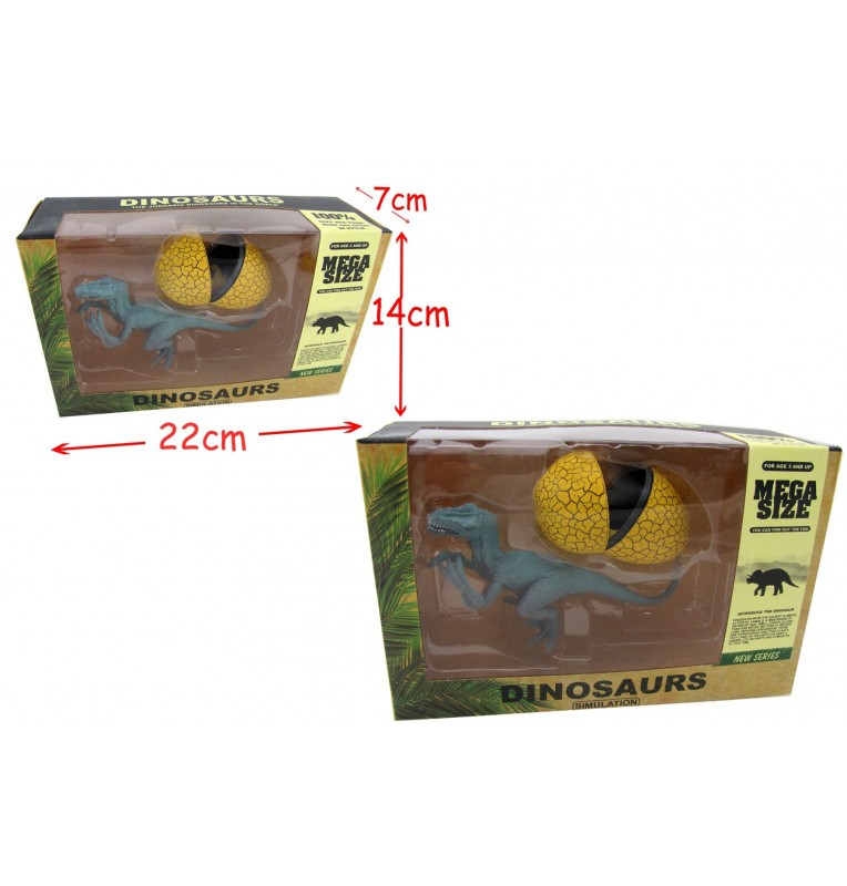 COFFRET DINOSAURES + OEUF 2 Assortiments