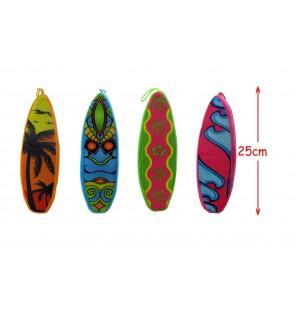 PLANCHE DE SURF EN PELUCHE LO 25 CM 4 Assortiments
