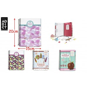 CARNET DE RECETTES DECOR CONFISERIES 4 Assortiments