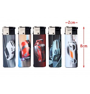 BRIQUET DESIGN VOITURE DE SPORT 5 Assortiments