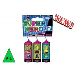 SACHET 3 FONTAINES SUPER HERO