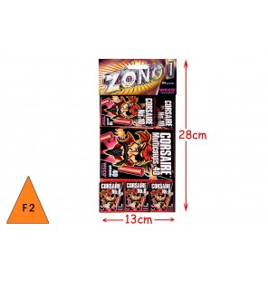 SACHET ASSORTIMENT 84 PETARDS ZONG 1