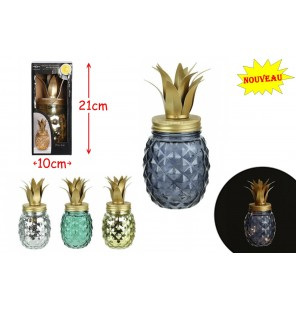 DECO ANANAS LED 4 COLORIS