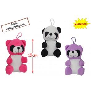 PANDA ASSIS H 15CM 3 Coloris