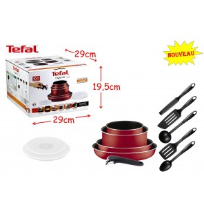 SET 2 PIECES CASSEROLES TEFAL