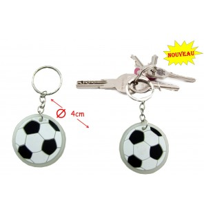 PORTE CLE BALLON DE FOOT 6 Coloris