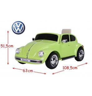 VW ELECTRIQUE BEETLE - VERTE