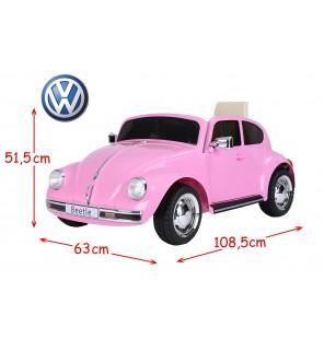 VW ELECTRIQUE BEETLE - ROSE
