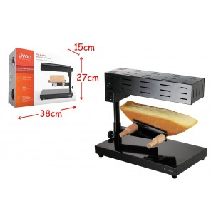 APPAREIL A RACLETTE TRADITIONNEL LIVOO TAILLE