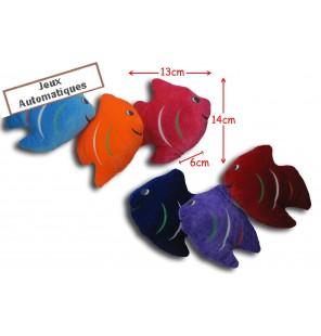 POISSON PLAT 6 coloris