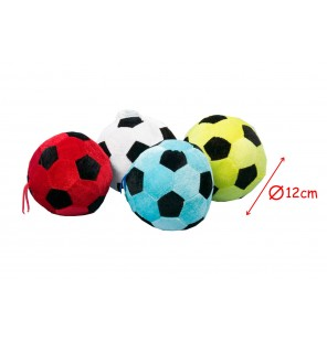 PELUCHE BALLON FOOT 4 COLORIS