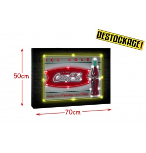 TABLEAU TOILE LED BOUTEILLE...
