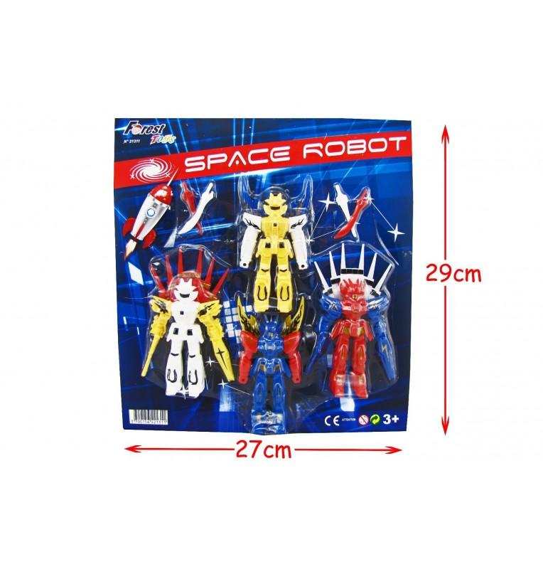 4 ROBOTS ASSORTIS
