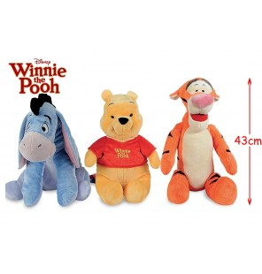 PELUCHE WINNIE & CO 3 ASSORTIS