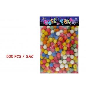 500 BOULES COTILLONS CE