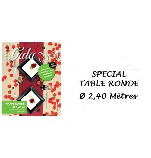 NAPPE INTISSE RONDE IVOIRE