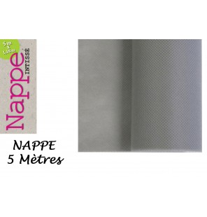 NAPPE INTISSEE GRIS 5 M