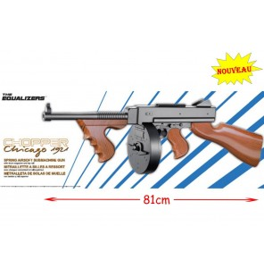 FUSIL CHOPPER CHICAGO LO 81 CM