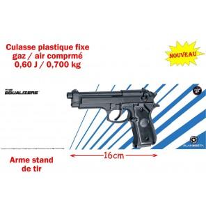 PISTOLET M92 GAZ / AIR COMPRIME 0.6J
