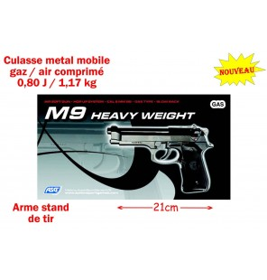 PISTOLET M9 METAL GAZ / AIR...