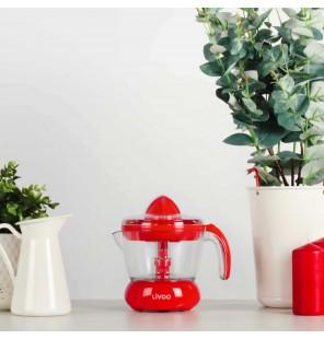 Presse agrumes Domoclip rouge