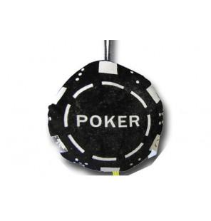 Jeton de poker en peluche.