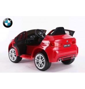 bmw x6 électrique rouge