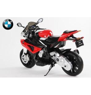 bmw s1000 électrique rouge