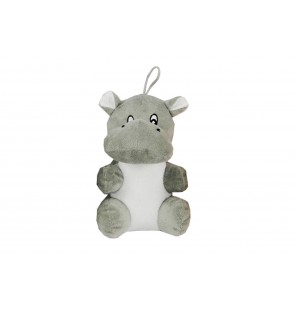 Peluche hippopotame assis