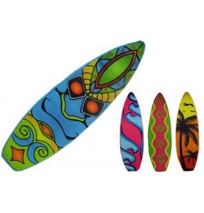 PELUCHE PLANCHE DE SURF 4 ASSORTIS