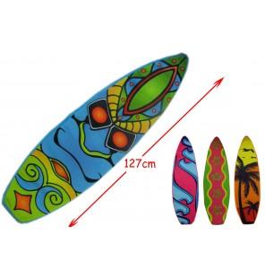 PELUCHE PLANCHE DE SURF 4 ASSORTIS 122CM