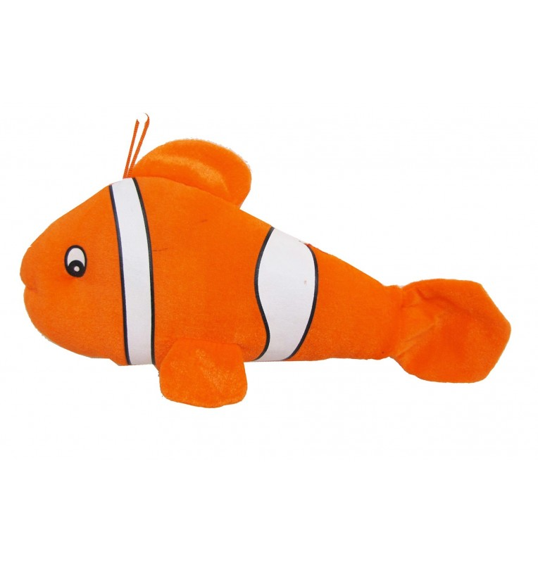 Peluche poisson orange