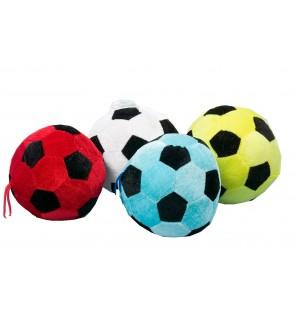 Peluche ballon de foot 4 coloris