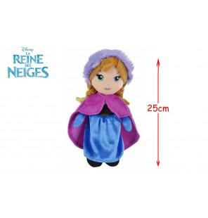 PELUCHE ANNA REINE DES NEIGES 25CM
