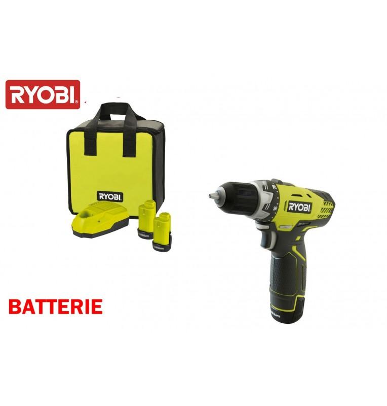 Ryobi perceuse visseuse 2 batteries