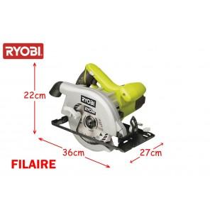 RYOBI SCIE CIRCULAIRE 1150W