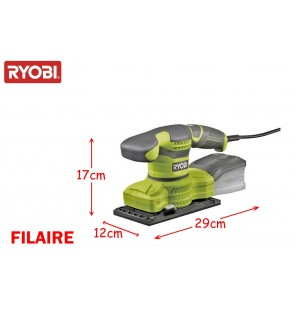 Ryobi ponceuse vibrante filaire 200W