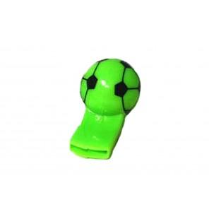 SIFFLET BALLON DE FOOTBALL VERT