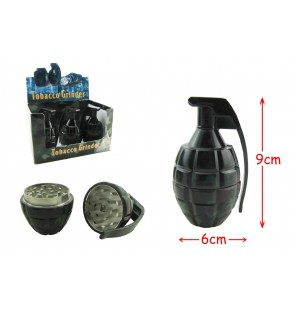 grinder grenade en métal