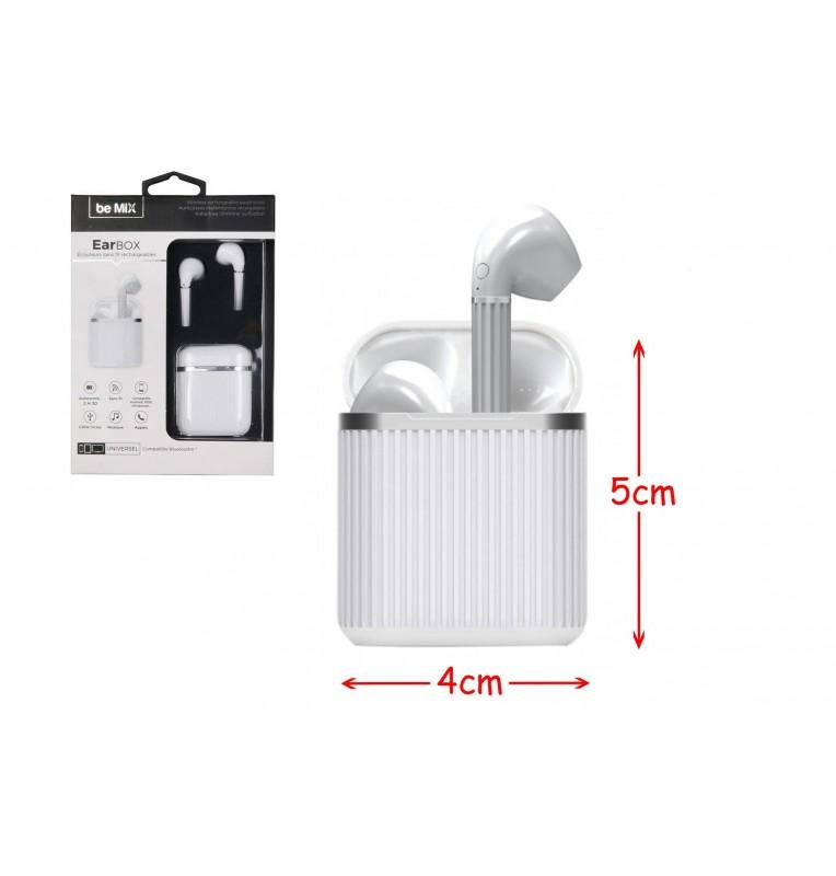 écouteurs Earbox blanc