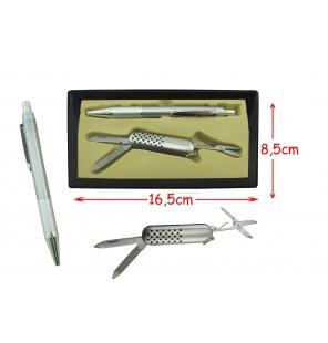 coffret couteau suisse avec stylo