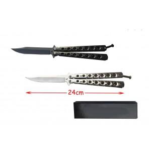 couteau noir ou argent
